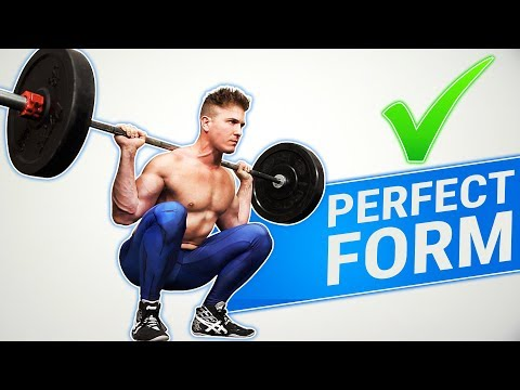 How To: Barbell Squat   3 GOLDEN RULES! (MADE BETTER!)