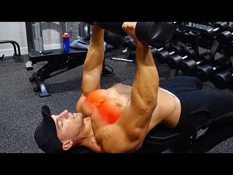 How To Dumbbell Bench Press & Improve Chest Activation