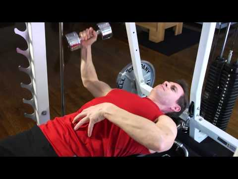 How to Do a One-Arm Dumbbell Bench Fly