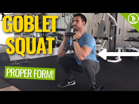 The Goblet Squat Exercise Guide - The Proper Form, Sets & Routine Tutorial