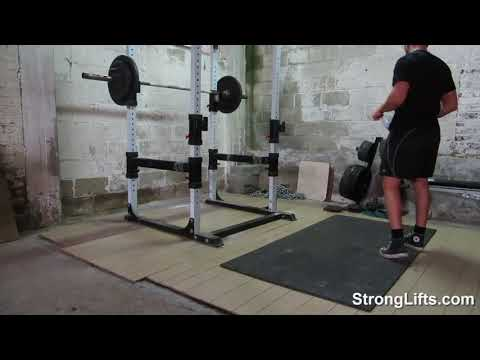StrongLifts 5x5 Workout A: Squat/Bench Press/Barbell Row (full body in 30min)