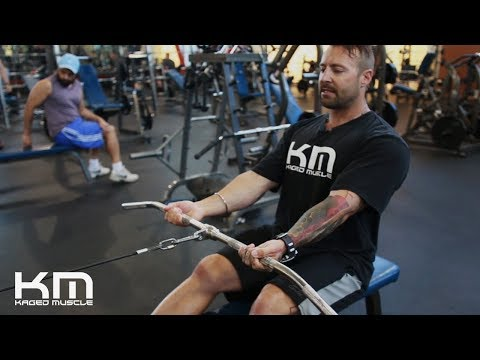 Reverse Grip Cable Row   How To Perform Them Correctly