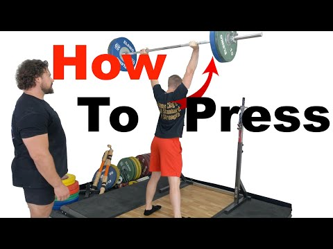 The ULTIMATE Overhead Press Tutorial (feat. 2019 World's Strongest Man Martins Licis)