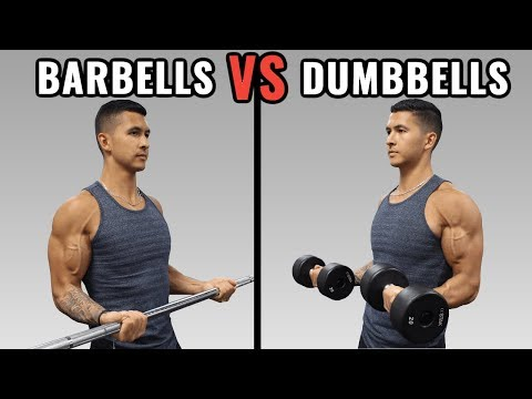 Barbells vs Dumbbells for Muscle Growth
