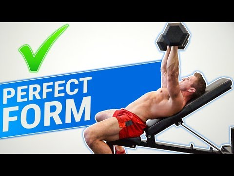 How To: Dumbbell Incline Press | 3 GOLDEN RULES (MADE BETTER!)