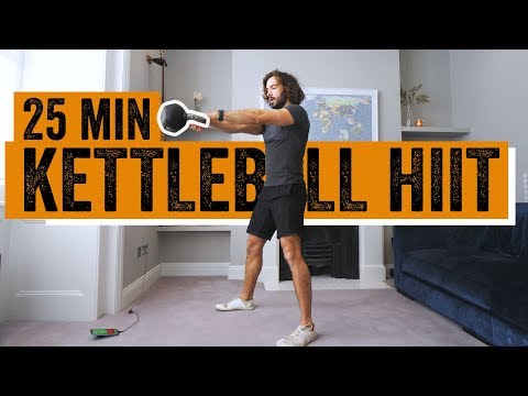 25 Minute Home Kettlebell Workout | The Body Coach TV
