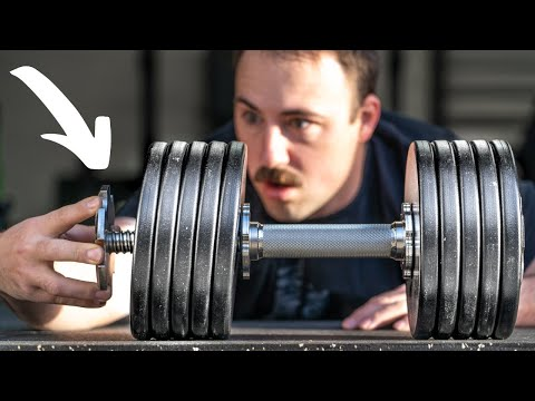 The Spin-Lock Adjustable Dumbbells That Go Heavy!
