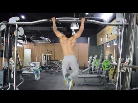 Weighted (Dumbbell) Pull ups - Learn the Exact Form