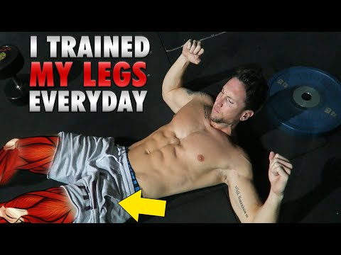 Results Of Training Legs Daily For 30 Days! (LEGS TRANSFORMATION!)