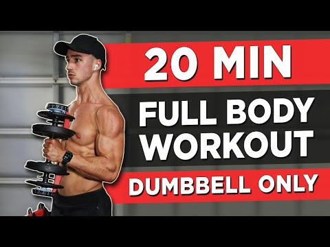 20 MINUTE FULL BODY WORKOUT (DUMBBELLS ONLY)