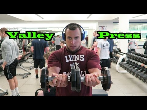 How To Valley Press | Tutorial | Chest Exercise