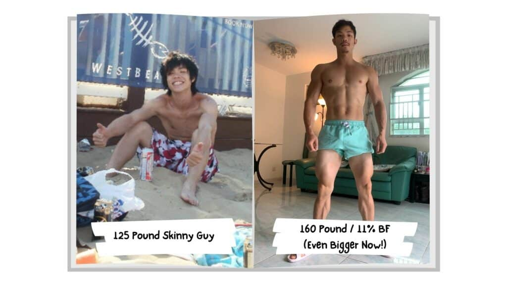 I gained 35 pounds of muscle without having to eat 6 meals a day!