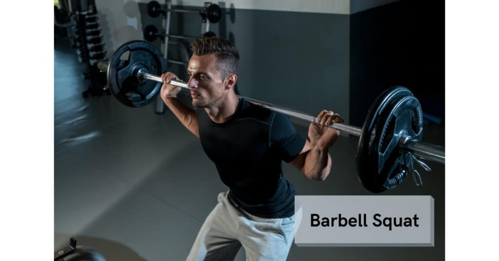 barbell squat is an example of compound lifting