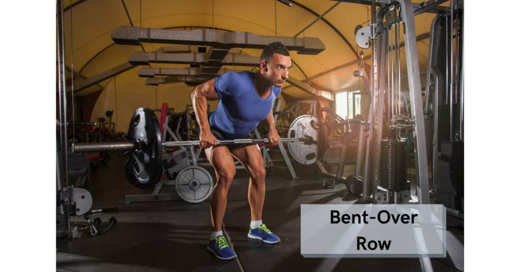 bent over row is an example of compound lifting