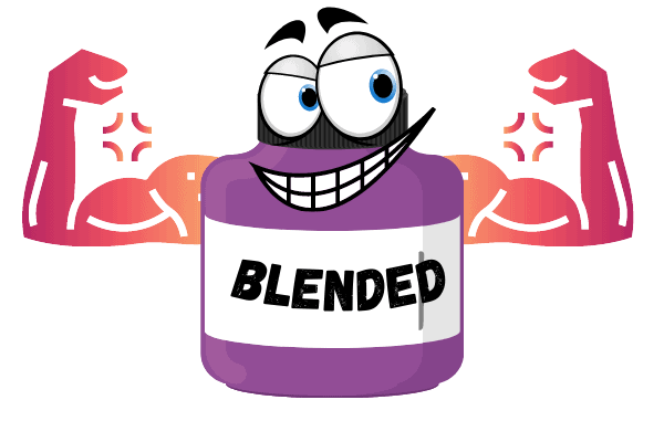 blended shakes are made from casein and whey