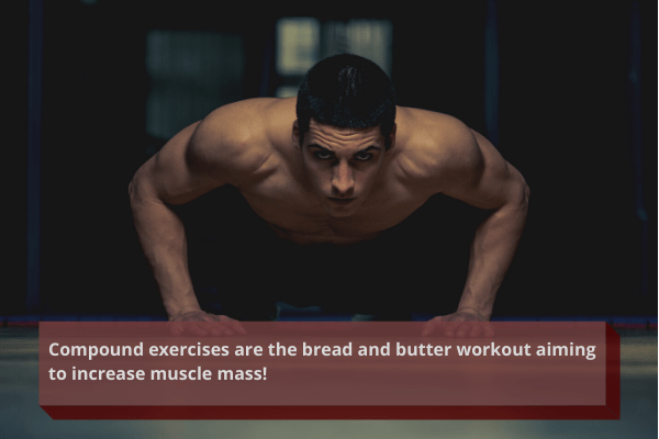 compound exercises are essential for skinny guys trying to gain muscle at home