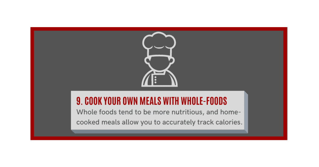 how can i gain muscle fast?  cook whole food meals