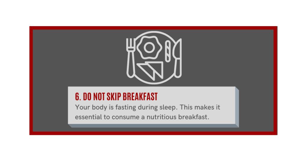 do not skip breakfast if you want to build muscle fast