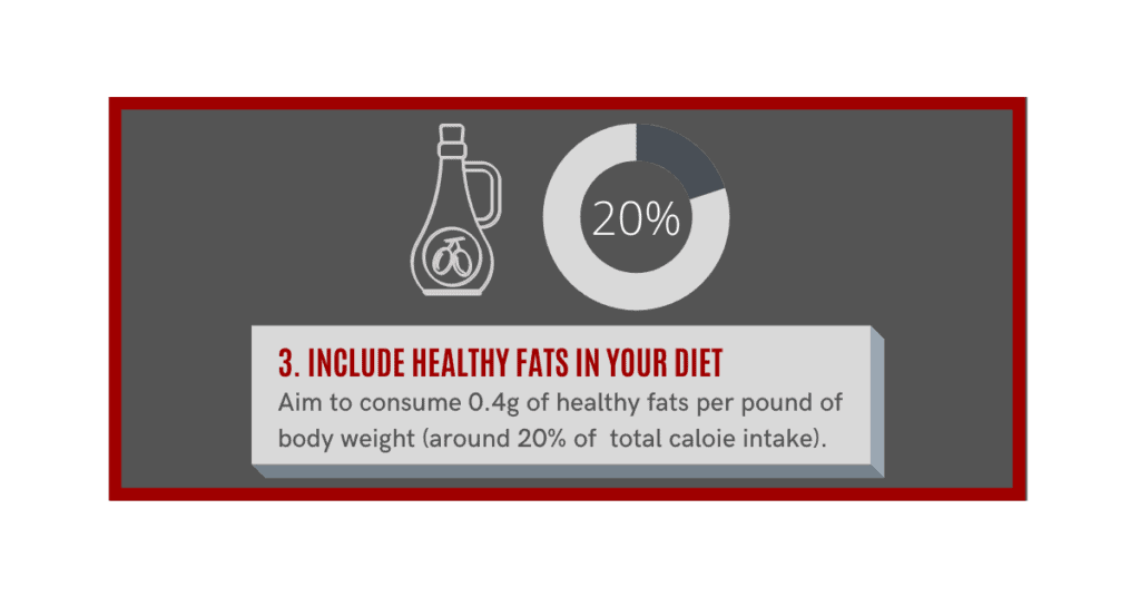 how can i gain muscle fast?  include healthy fats in your diet