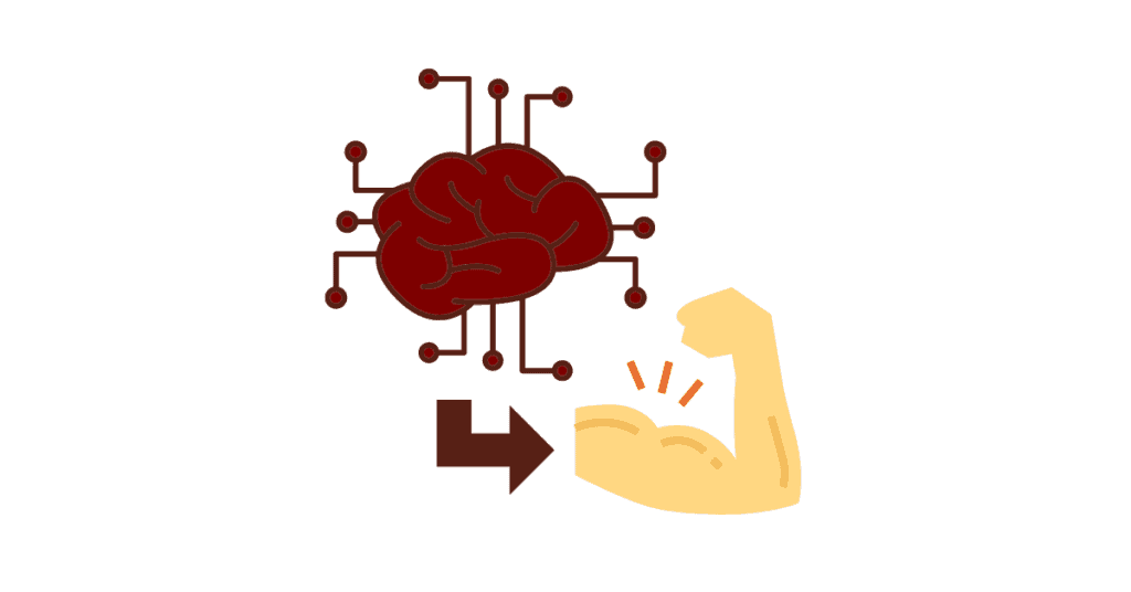 mind to muscle contraction is important to lift weights.