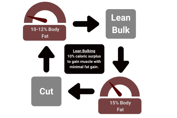 how to lean bulk so you dont lose your abs