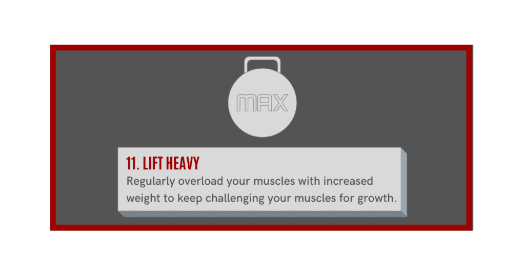 how can i gain muscle fast? lift heavy weights