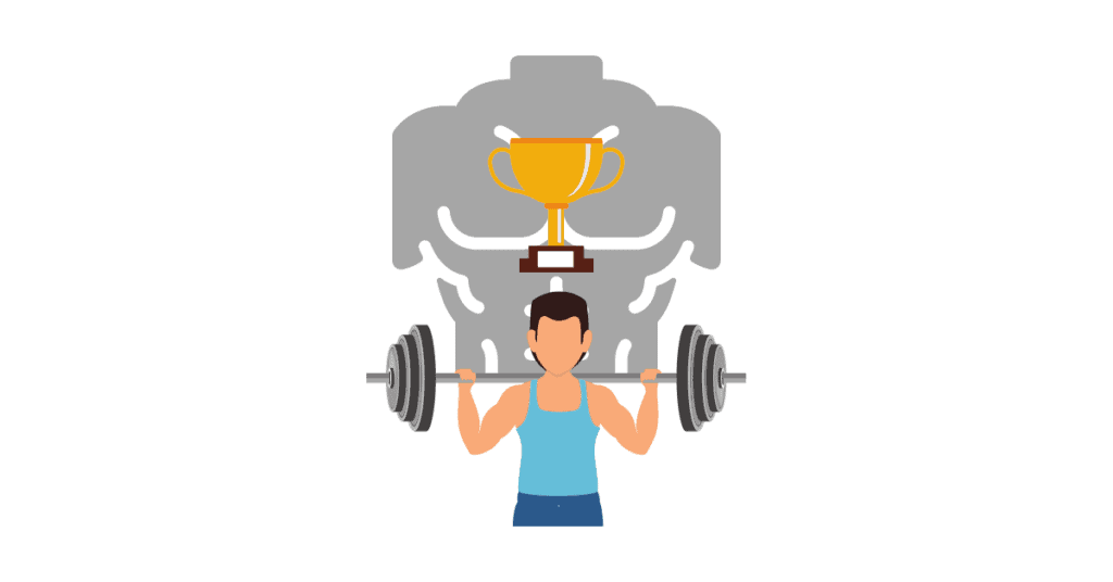choose a goal to lift weights properly