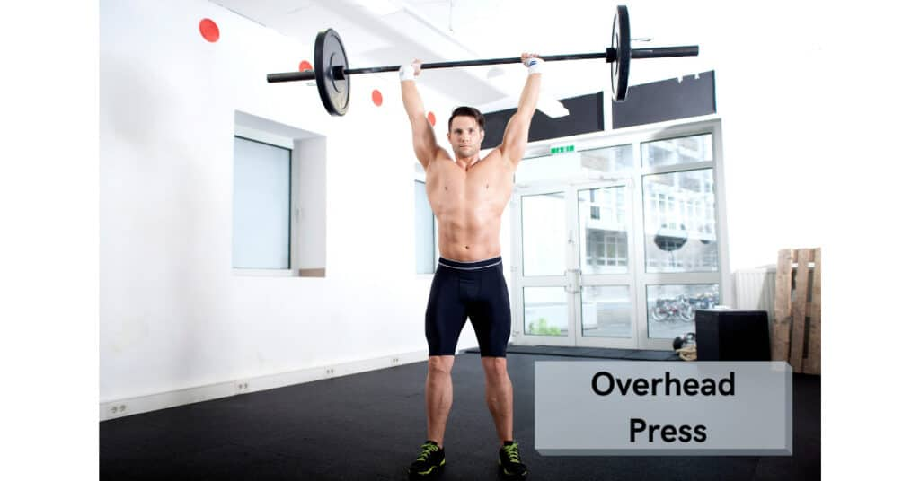 over head press is an example of compound lifting