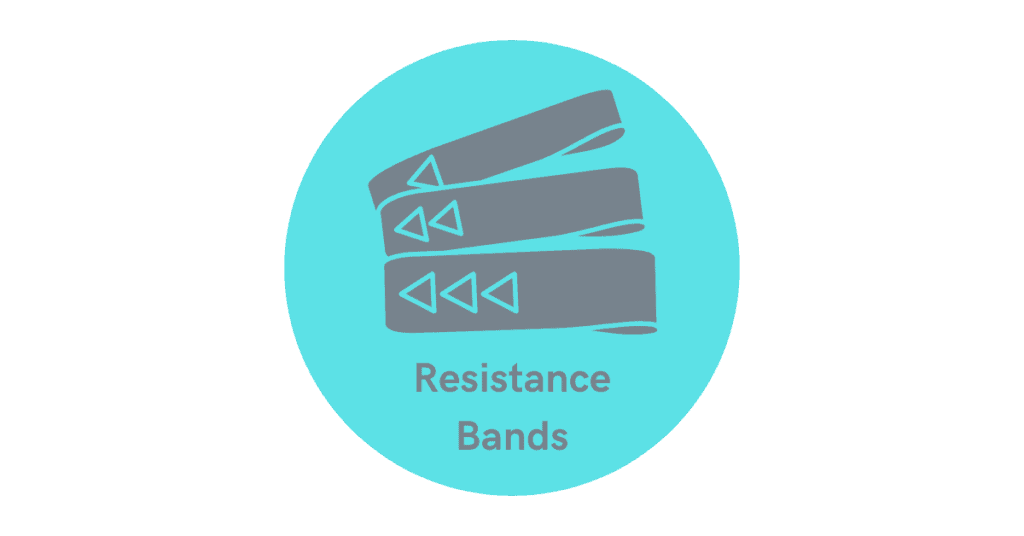 build the arms with resistance bands