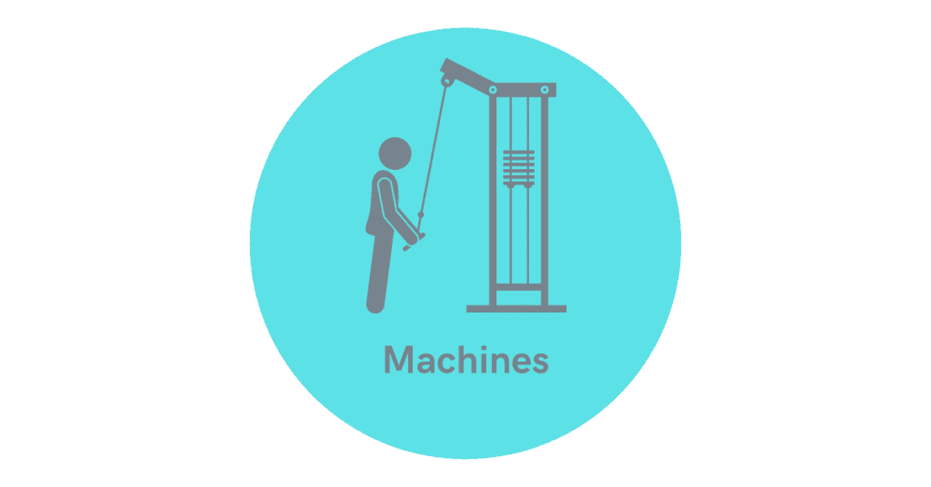 build the arms with machines