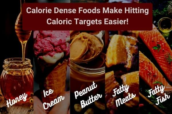 calorie dense foods are helpful for hardgainers to build muscle