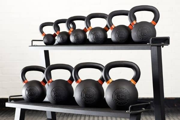 kettlebells can replace barbell training in a home gym