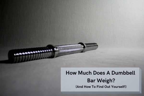 how much does a dumbbell bar weigh?