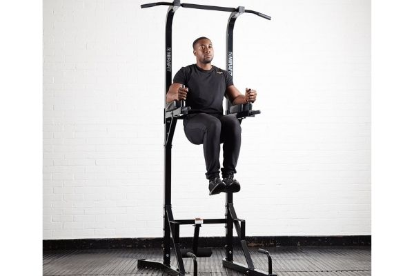 power towers allow you to do pull ups and chin ups in a home gym
