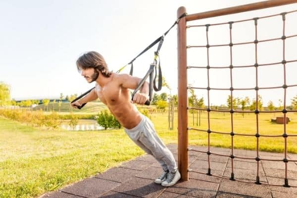 suspension trainers allow you to gain muscle at home