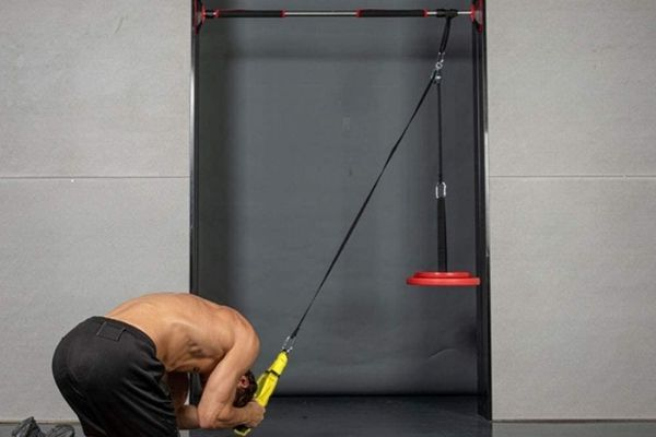 weight plate pulley systems can be be installed at home