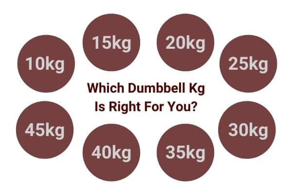 which dumbbell kg is right for you?