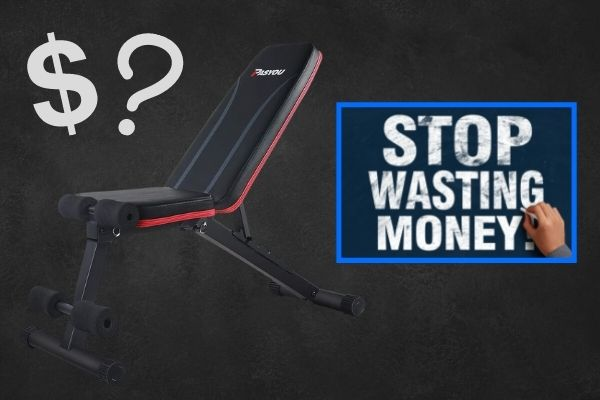 How much should a weight bench cost?