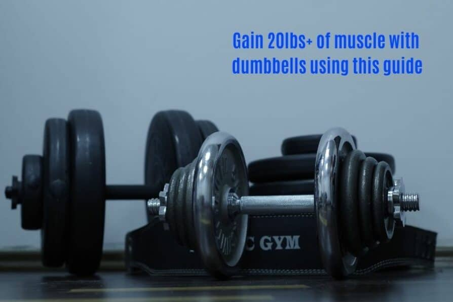 Dumbbell only home gym