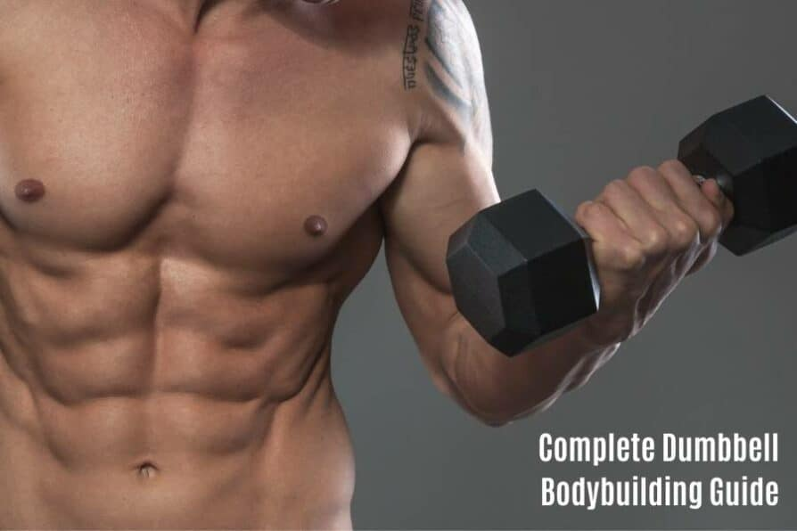How to bodybuild with dumbbells